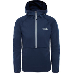 The North Face Kids Tek Glacier 1/4 Zip Jacket Cosmic Blue